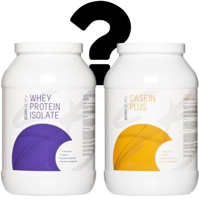 Casein vs Whey Isolate
